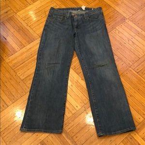 Gap wide leg jeans in size 8a/ 8c